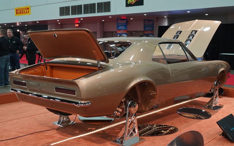 2018 Detroit Autorama 1967 Camaro Great 8 Winner