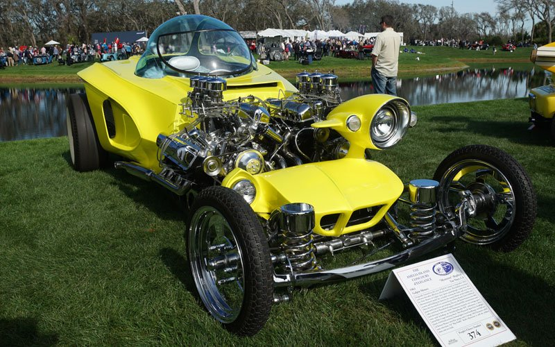 mysterion-replica Ed Roth cars at Amelia Island Concours D'Elegance