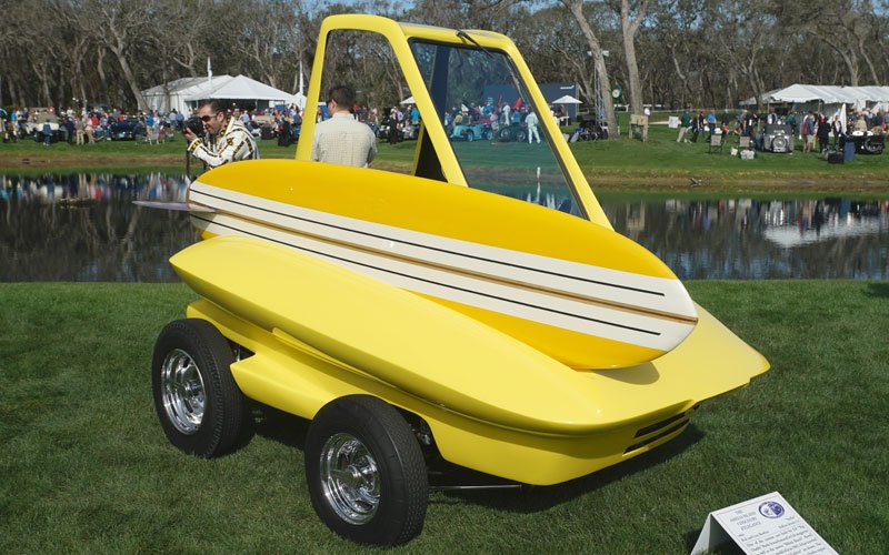 Ed Roth cars at Amelia Island Concours D'Elegance