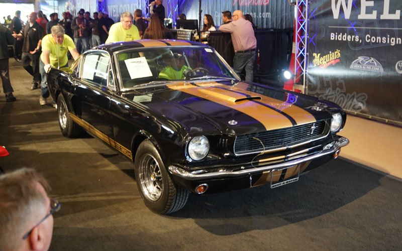 1966 Shelby GT350-Hertz sells at Spring Carlisle Auction 2018