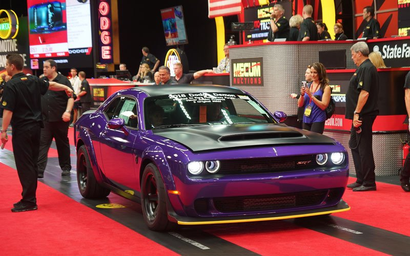 2018 Dodge SRT Demon at Indy Mecum Auction