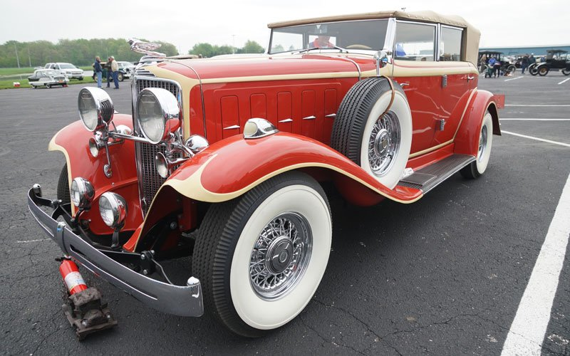 Auburn Spring Auction 2018 sees 1932 Nash 1080 Convertible at AACA Meet