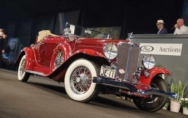 1932 Auburn Eight Cabriolet at Auburn Spring Auction 2018