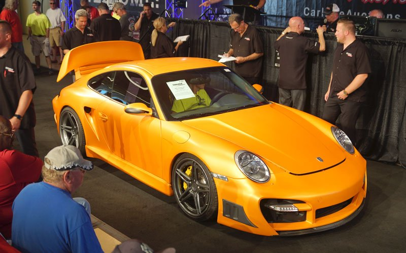 2007 Porsche 911 Turbo at Carlisle Summer Auction