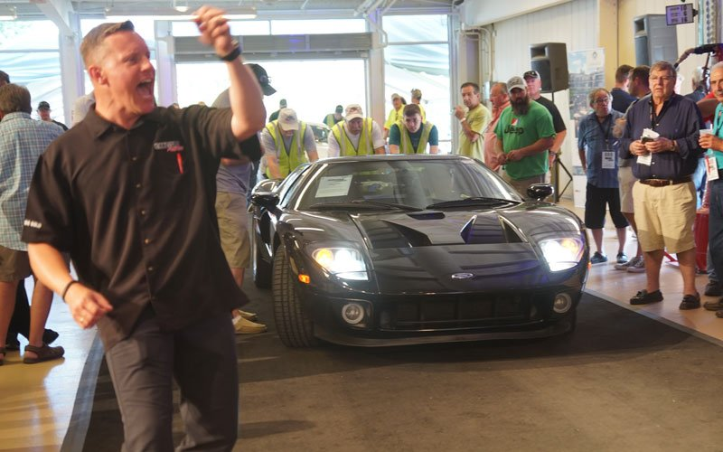 2006 Ford GT at the Carlisle Summer Auction