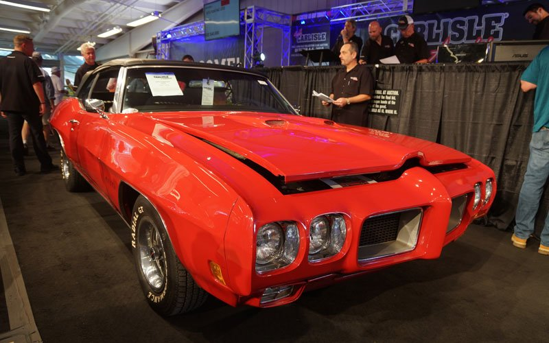 1970 Pontiac GTO sold at Carlisle Summer Auction