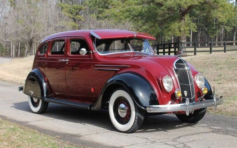 1935 Desoto Airflow offered at Raleigh Spring Classic Austion 2018