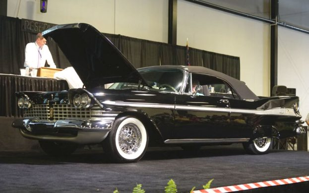 59 Plymouth Sport Fury at Raleigh Spring Classic Auction