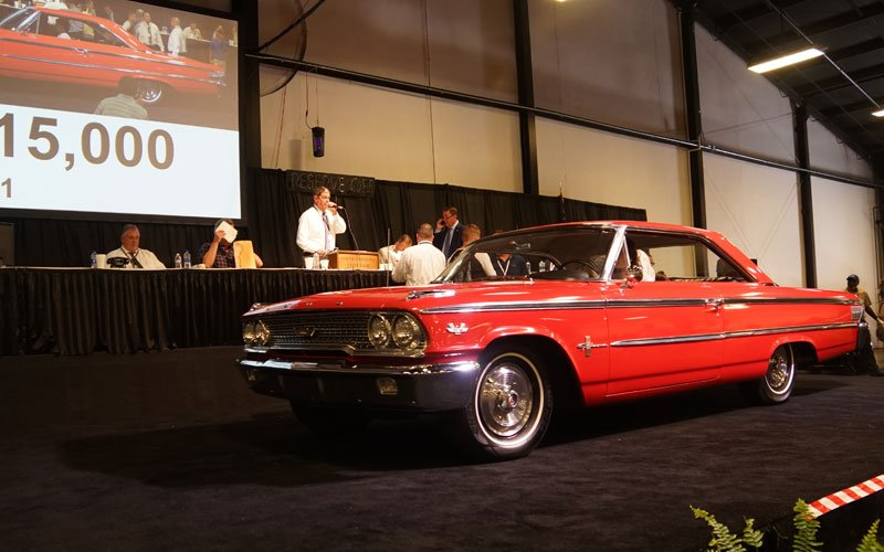 1963 1/2 Ford Galaxie R Code 427 at Raleigh Spring Classic Auction