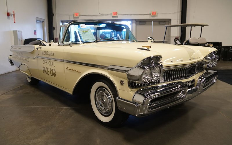 1957 Mercury Turnpike Cruiser Indy Pace Car