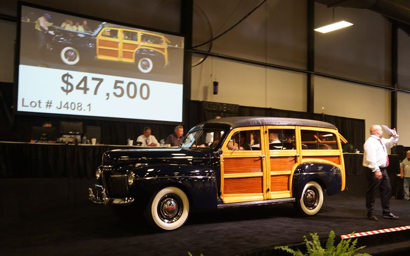 1941 Mercury Woody Wagon