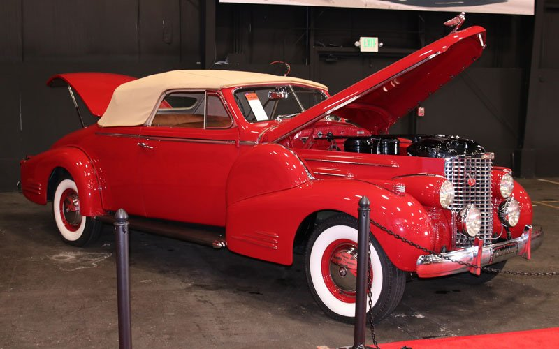 1938 Cadillac V-16 Fleetwood Convertible at the Fall Auburn Auction