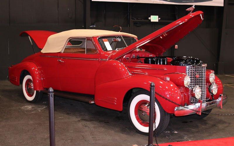 1938 Cadillac V-16 Fleetwood Convertible at the Fall Auburn Auction