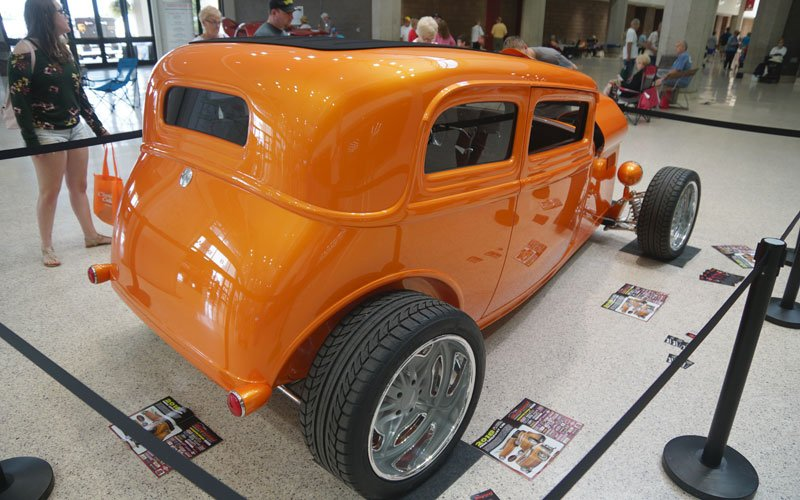 NSRA Street Rod Nationals 2018 Giveaway Car