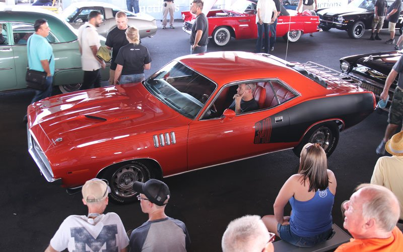 1970 Plymouth Cuda offered Friday at the Fall Auburn Auction