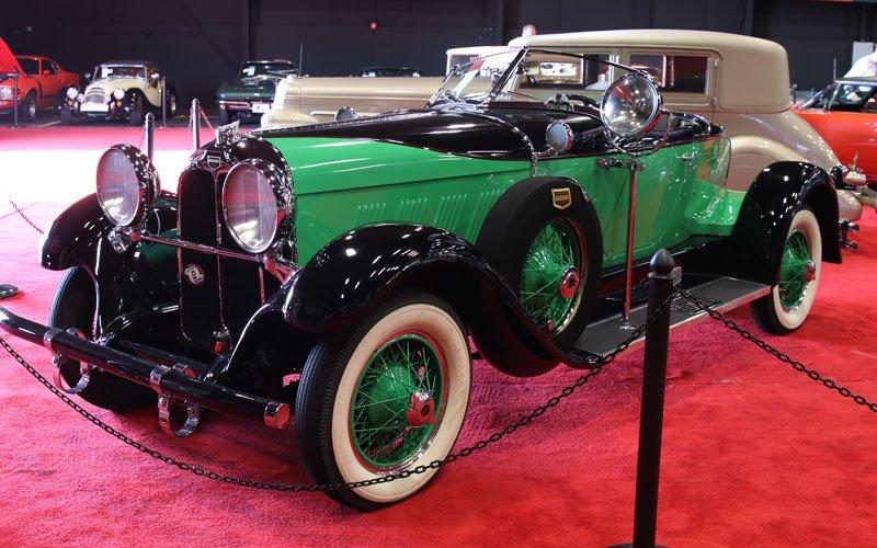 1929 Auburn 120 Eight Speedster at the Fall Auburn Auction