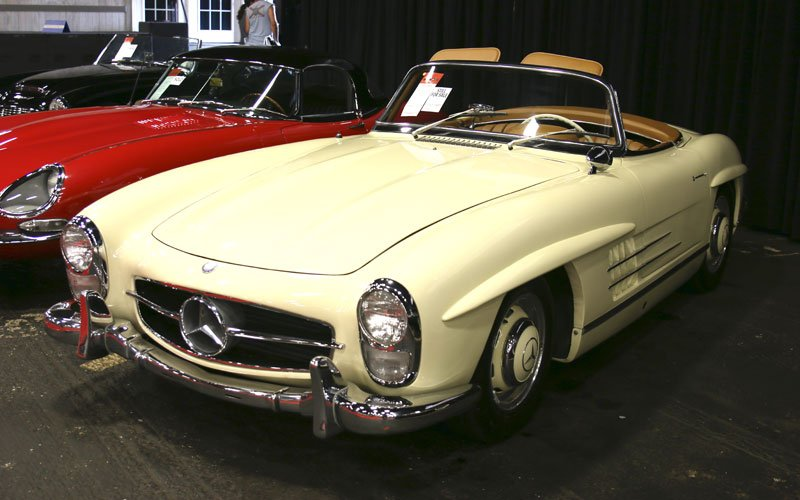1957 Mercedes-Benz 300SL Roadster at Fall Auburn Auction