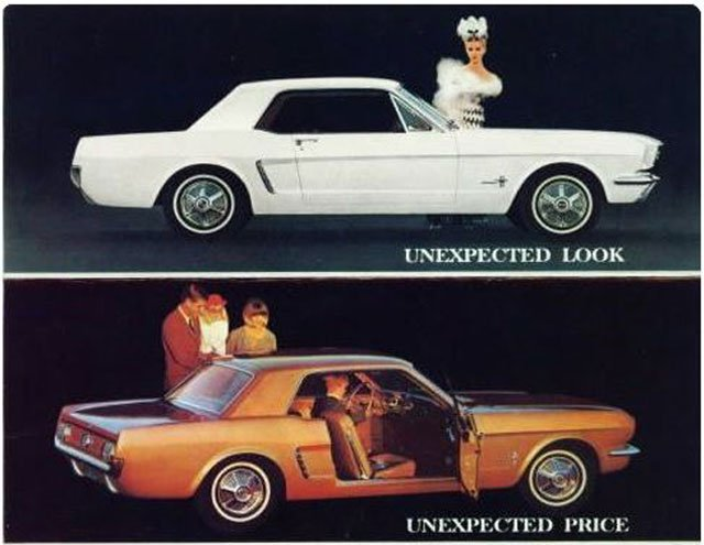 1964 1/2 Mustang ad from Mustang by Design