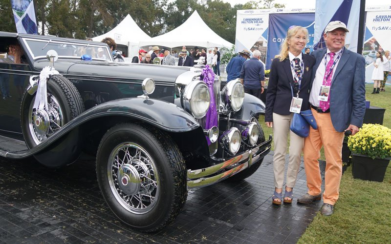 1932 Stutz DV=32 wins Best In Show at the Hilton Head Island Concours 2018