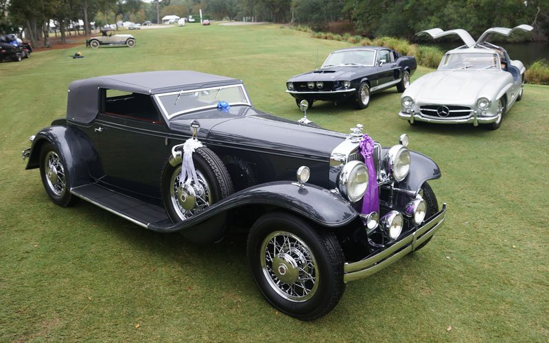 Winners at the Hilton Head Island Concours 2018