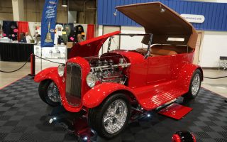 John Evans' 1927 Teed Up Roadster in contention for the America's Most Beautiful Roadster Trophy