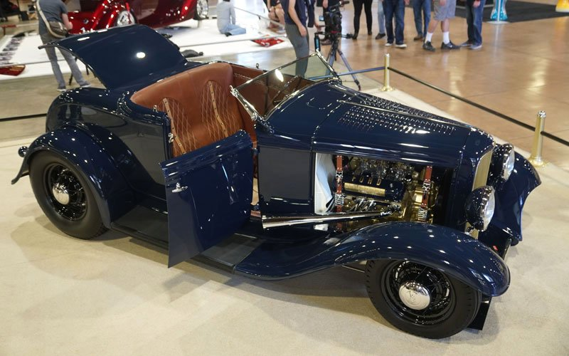 1932 Ford Roadster contends for America's Most Beautiful Roadster trophy