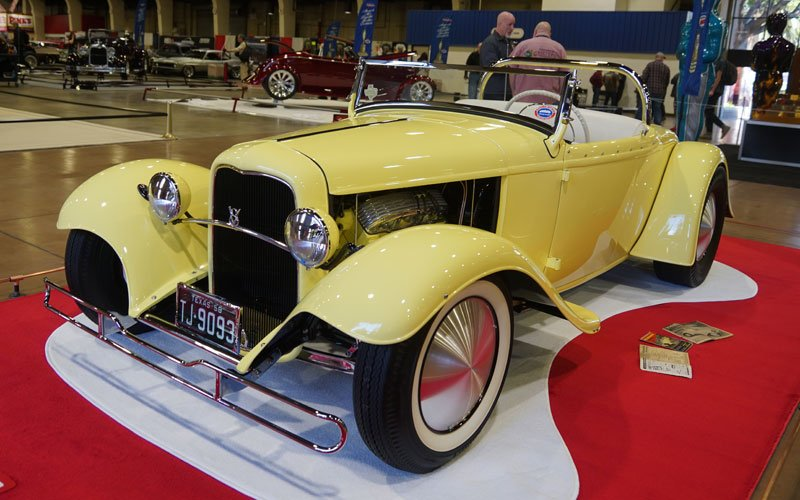 1932 Ford Roadster called Tweety contends for the America's Most Beautiful Roadster trophy