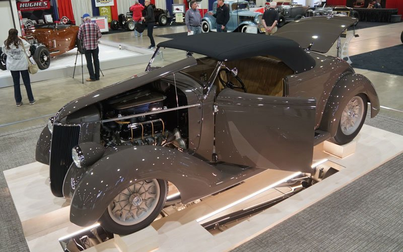 1936 Ford Roadster at Grand National Roadster Show