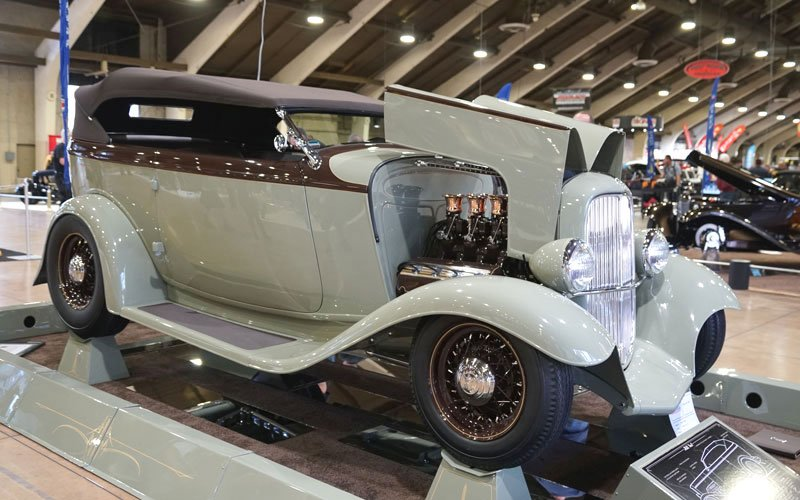 1932 Ford Phantom contends for America's Most Beautiful Roadster trophy