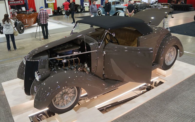 1933 Ford AMBR contender at the Grand National Roadster Show