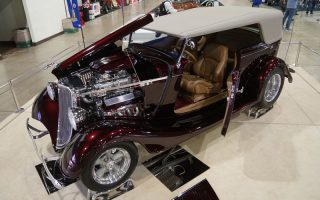 1933 Ford Phaeton contends for the America's Most Beautiful Roadster Trophy