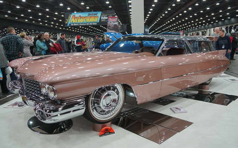CadMad, the 1959 Cadillac Nomad, wins the Ridler Award at the 2019 Detroit Autorama