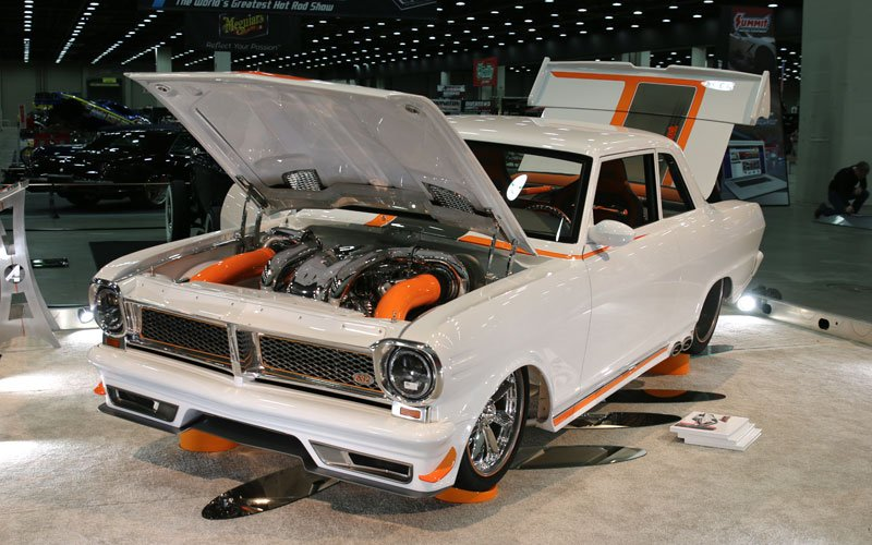 1964 Acadian Called Anvil makes the Great 8 at the 2019 Detroit Autorama