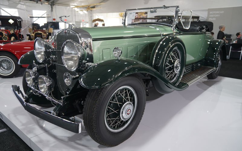 1930 Cadillac Series 452 V-16 Roadster sells at Amelia Island