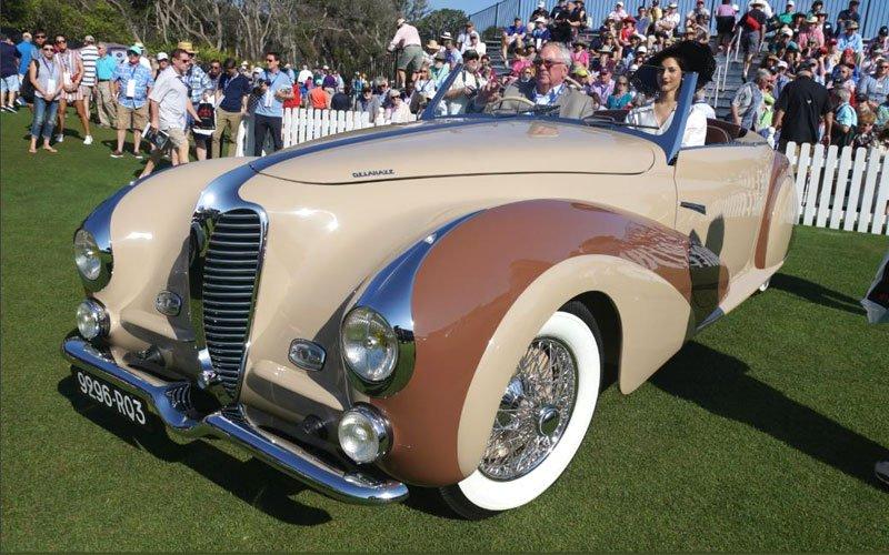 1948 Delahaye 135M Cabriolet at 2019 Amelia Island Concours