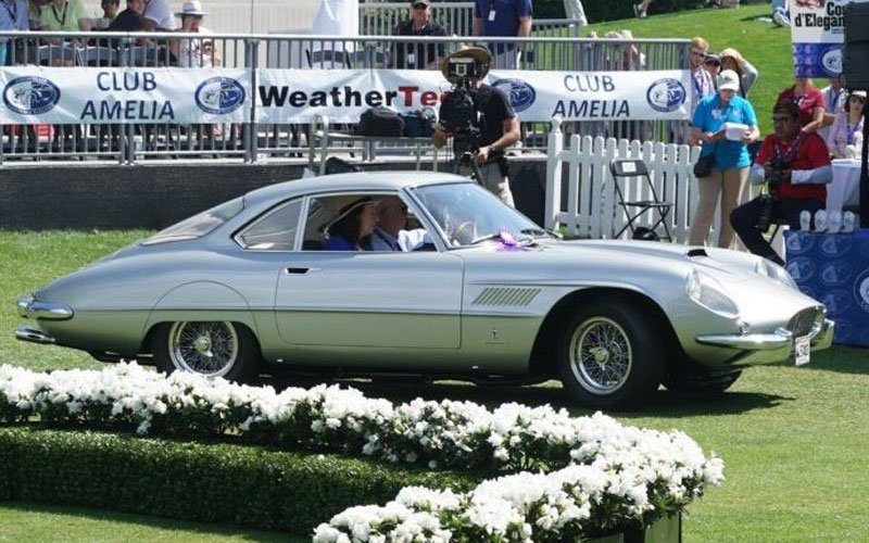 1961 Ferrari 250 GT won Most Elegant Sports Car award