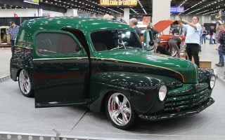 1947 Ford Sedan Delivery selected to Great 8 at 2019 Detroit Autorama