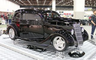 1935 Ford Slantback selected to Great 8 at 2019 Detroit Autorama