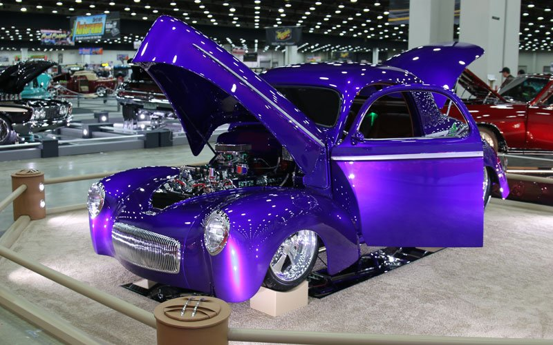 1941 Willys Pro Street Coupe Took A Great 8 Award