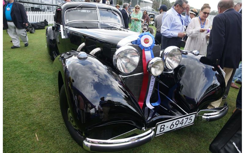 1938 #Mercdes-Benz 540K wins the Best of Show at the 2019 Amelia Island Concours