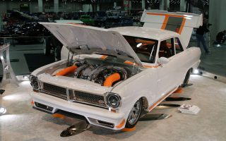 1964 Acadian selected to the Great 8 at 2019 Detroit Autorama
