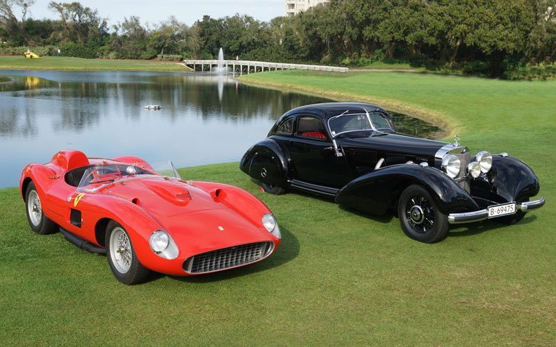 Best of Show winners at the 2019 Amelia Island Concours