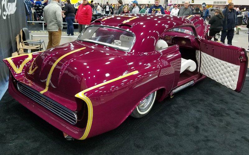 Carl Casper's 1951 Chevy Radical Custom Coupe