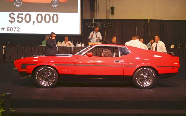 1971 Boss 351 Mustang sold at the Raleigh Classic Auction 2019