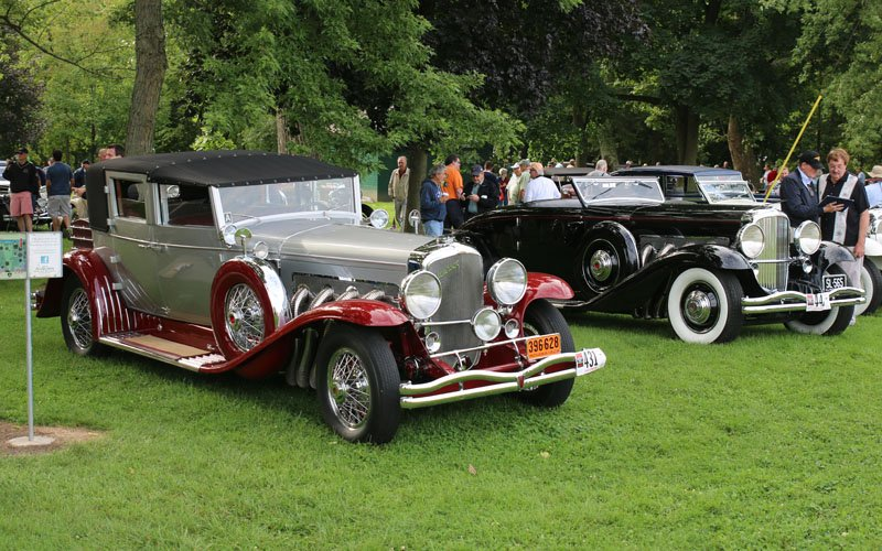 Concours at the Auburn-Cord-Duesenberg Festival