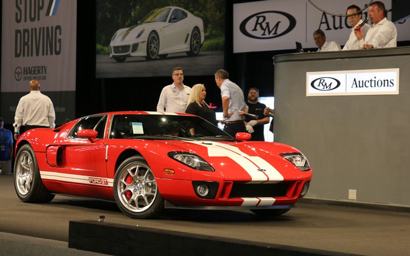 2005 Ford GT is top sale at the Fall Auburn Auction 2019