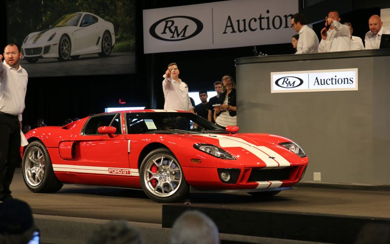 2005 Ford GT becomes the top sale at the Fall Auturn Auction on Friday