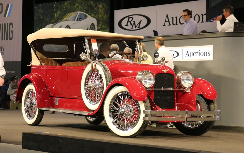 1923 Duesenberg 5-Passenger Touring car sells at Fall Auburn Auction 2019