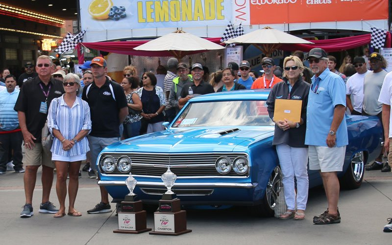 1965 Chevelle Custom called Reflections wins Hot August Nights 2019 Cup Award