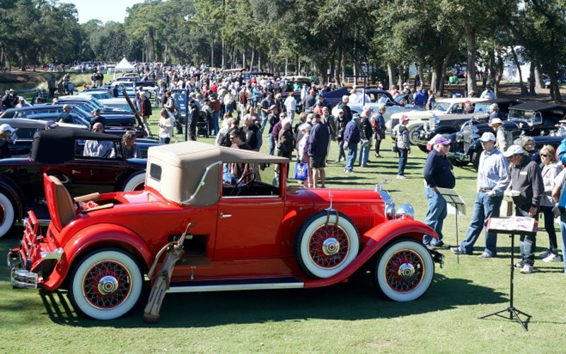 2019 Hilton Head Island Concours Features The Classics